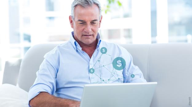 Empréstimo PP-2 – participante usando laptop